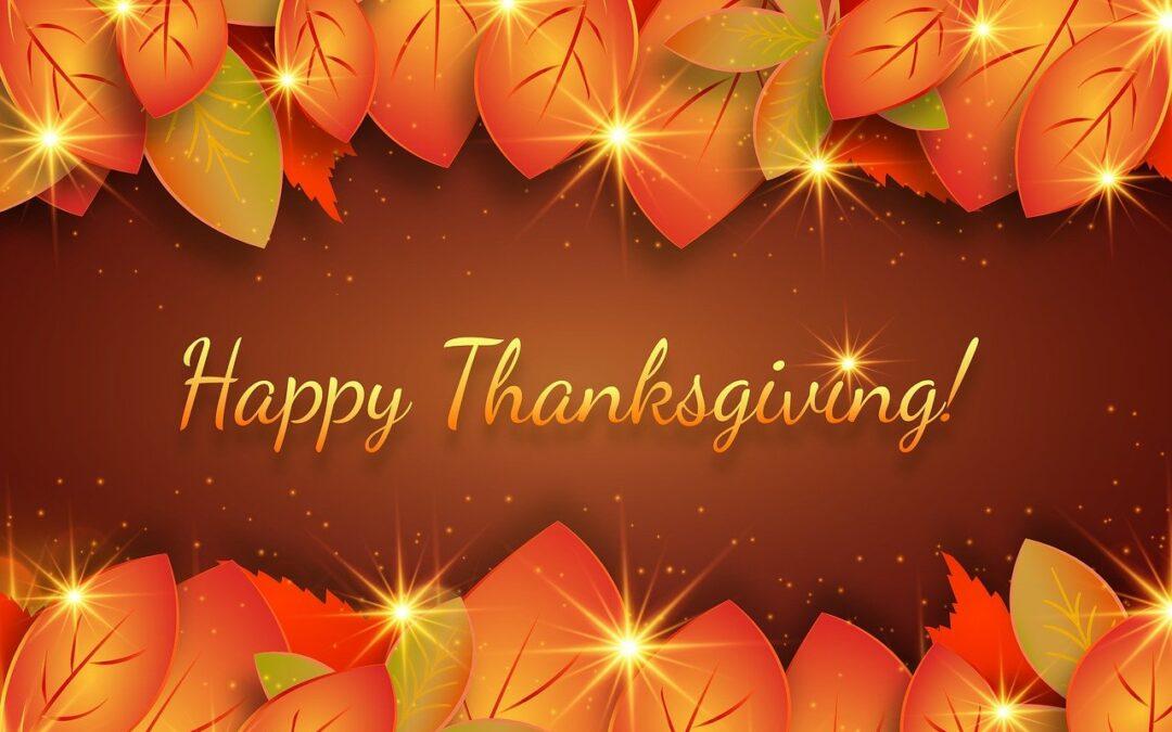 Happy Thanksgiving from Wyman Plumbing
